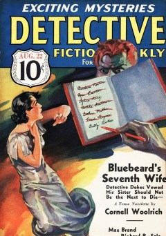 DETECTIVE FICTION WEEKLY - August 22, 1936