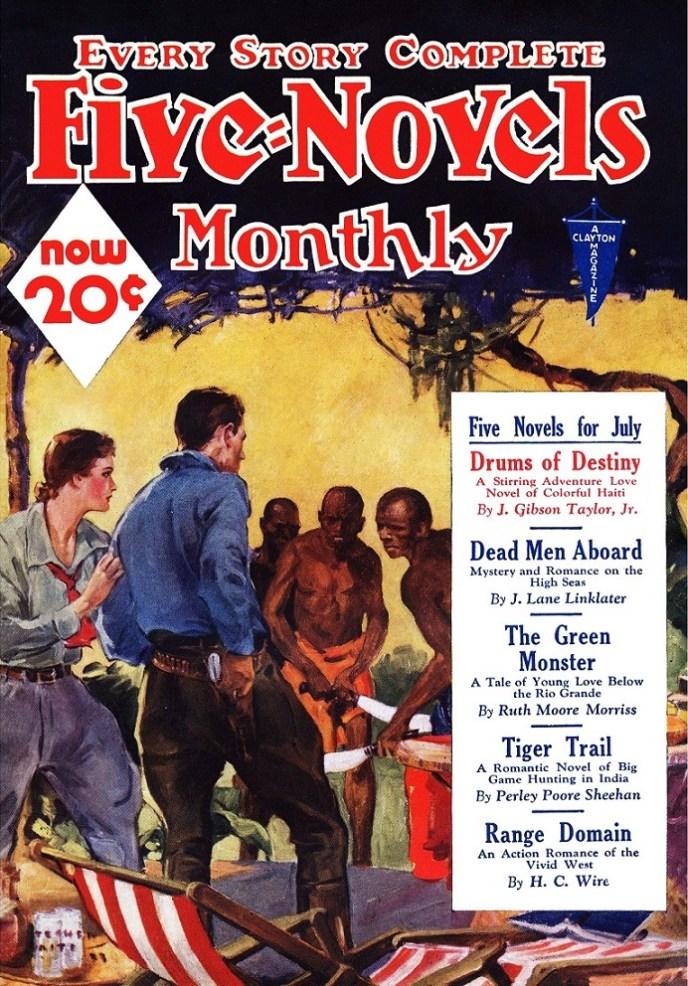 FIVE NOVELS MAGAZINE- July 1933
