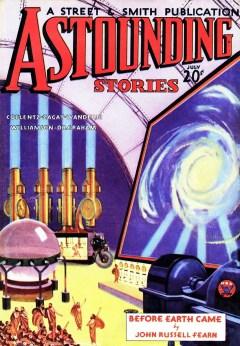 ASTOUNDING STORIES - July 1934