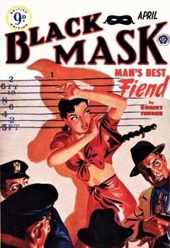 BLACK MASK - UK edition, April 1950