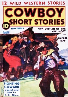 COWBOY SHORT STORIES - November 1939