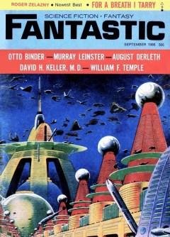 FANTASTIC SCIENCE FICTION FANTASY - September 1966
