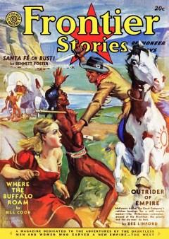 FRONTIER STORIES magazine - Summer 1941