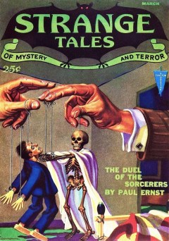 STRANGE TALES OF MYSTERY AND TERROR - March 1932