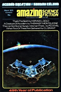 AMAZING SCIENCE FICTION - March 1975