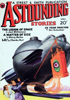 ASTOUNDING STORIES - April 1934