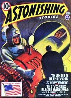 ASTONISHING STORIES - October 1942