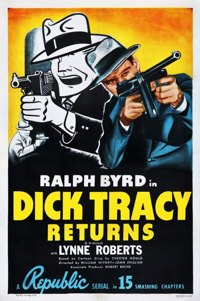 DICK TRACY RETURNS - POSTER