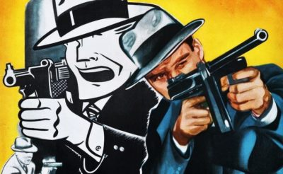 DICK TRACY RETURNS theatrical POSTER
