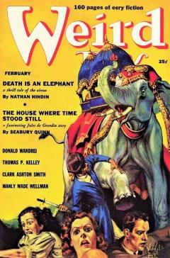 WEIRD TALES - February 1939