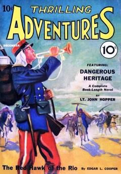 THRILLING ADVENTURES - First issue, December 1931