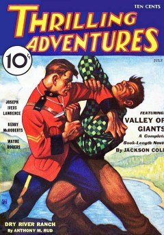THRILLING ADVENTURES - July 1933