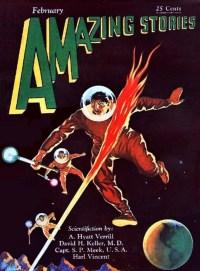 AMAZING STORIES - February 1930