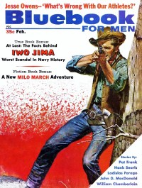 BLUE BOOK FOR MEN - February 1961