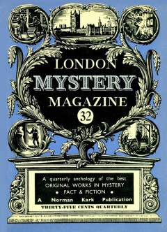 THE LONDON MYSTERY MAGAZINE - March 1957