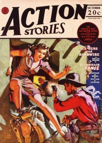 ACTION STORIES - October 1942