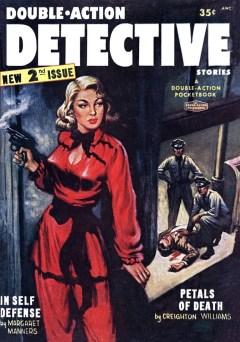 DOUBLE ACTION DETECTIVE STORIES - No.2, 1955