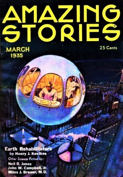 AMAZING STORIES - March 1935