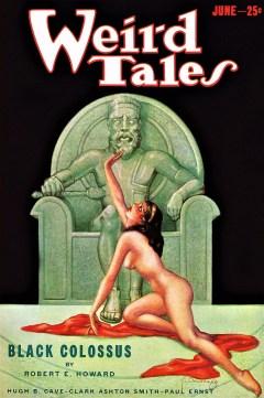 WEIRD TALES - June 1933