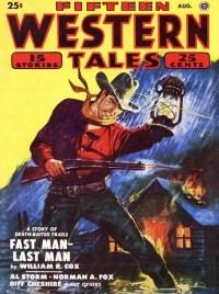 FIFTEEN WESTERN TALES - August 1950