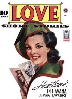 LOVE SHORT STORIES - October 1943