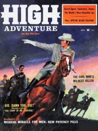 HIGH ADVENTURE - April 1959