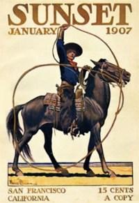 SUNSET magazine - January 1907