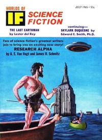 WORLDS OF IF - July 1965
