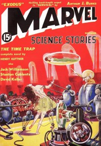 MARVEL SCIENCE STORIES - November 1938