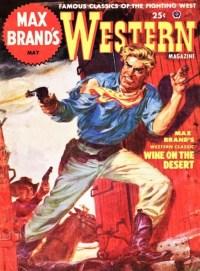 MAX BRAND'S WESTERN MAGAZINE - May 1952