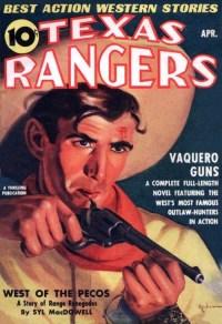 TEXAS RANGERS - April 1939