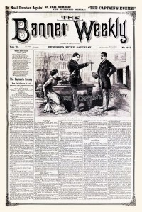 THE BANNER WEEKLY - February 4, 1888 cover