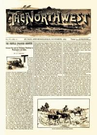 THE NORTHWEST - November 1887