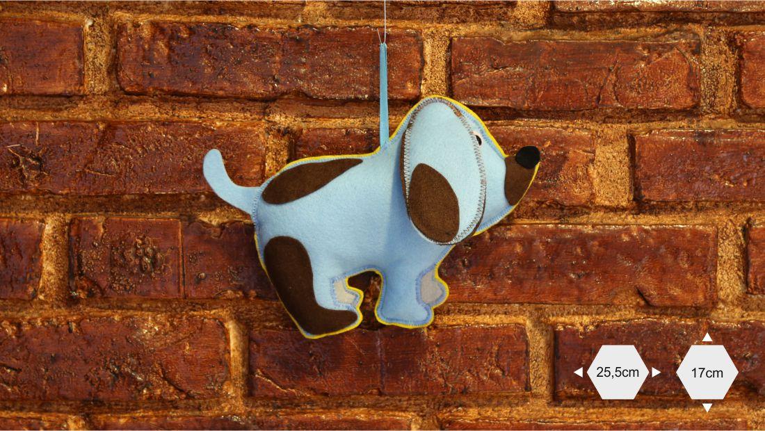 Maskotki z filcu - Pies