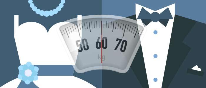 Jak pozbyć się zbędnych kilogramów przed ślubem?