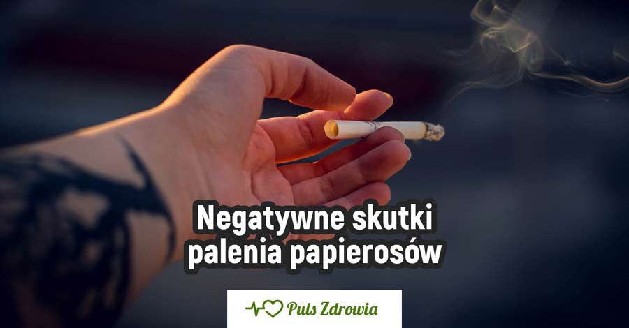 Negatywne skutki palenia papierosów