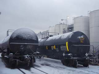 rail tank car mixing