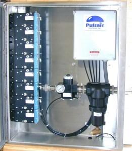 eight valve enclosure