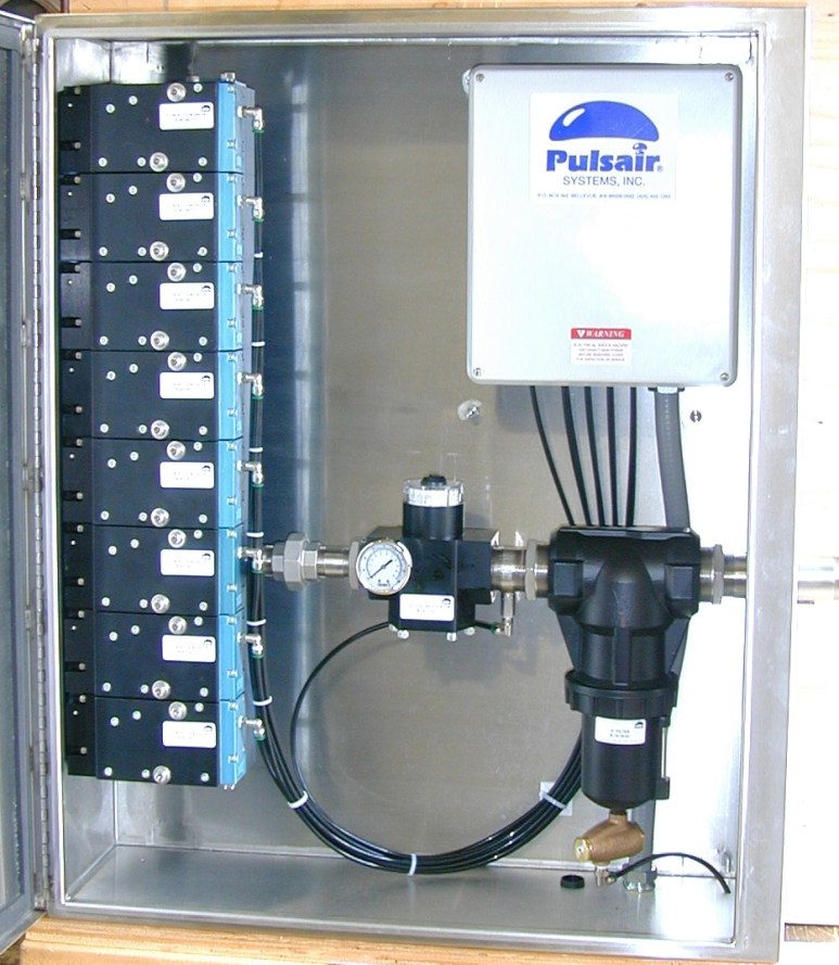 eight valve pulsair enclosure