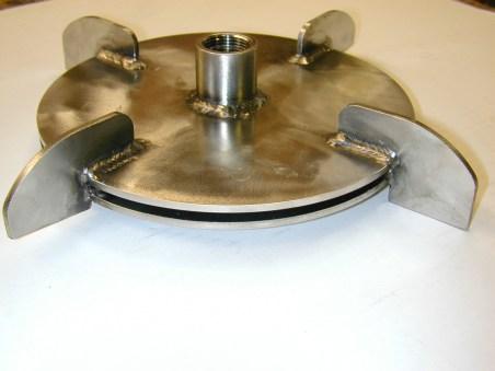 stainless accumulator plates