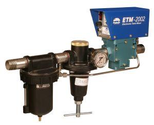 Electronic tank mixer
