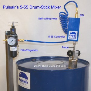 55 Gallon Drum Agitator