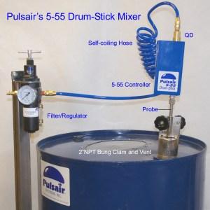 animal liquid feed mixing