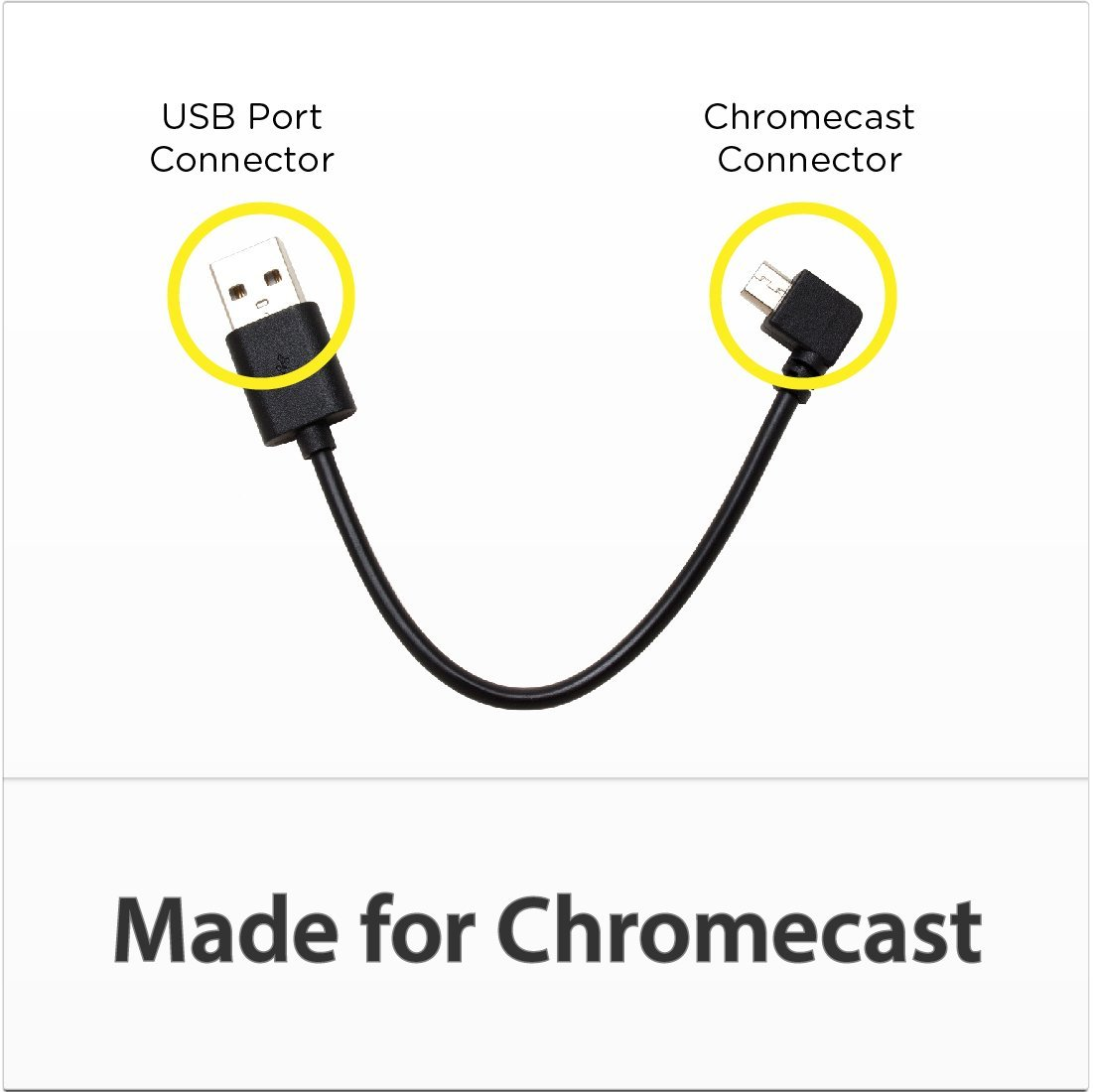 hight resolution of tvpower usb power cable for chromecast pulse eight ultra hd distribution and control products