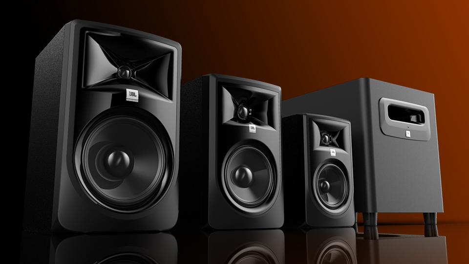 JBL 3 SERIES MKII  Pulse Design Group  Product Design