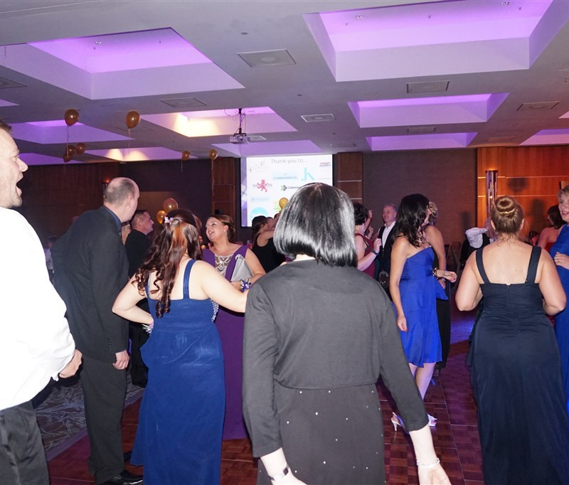 Pulse wedding band Glasgow & Ayrshire at SiMBA charity ball Edinburgh
