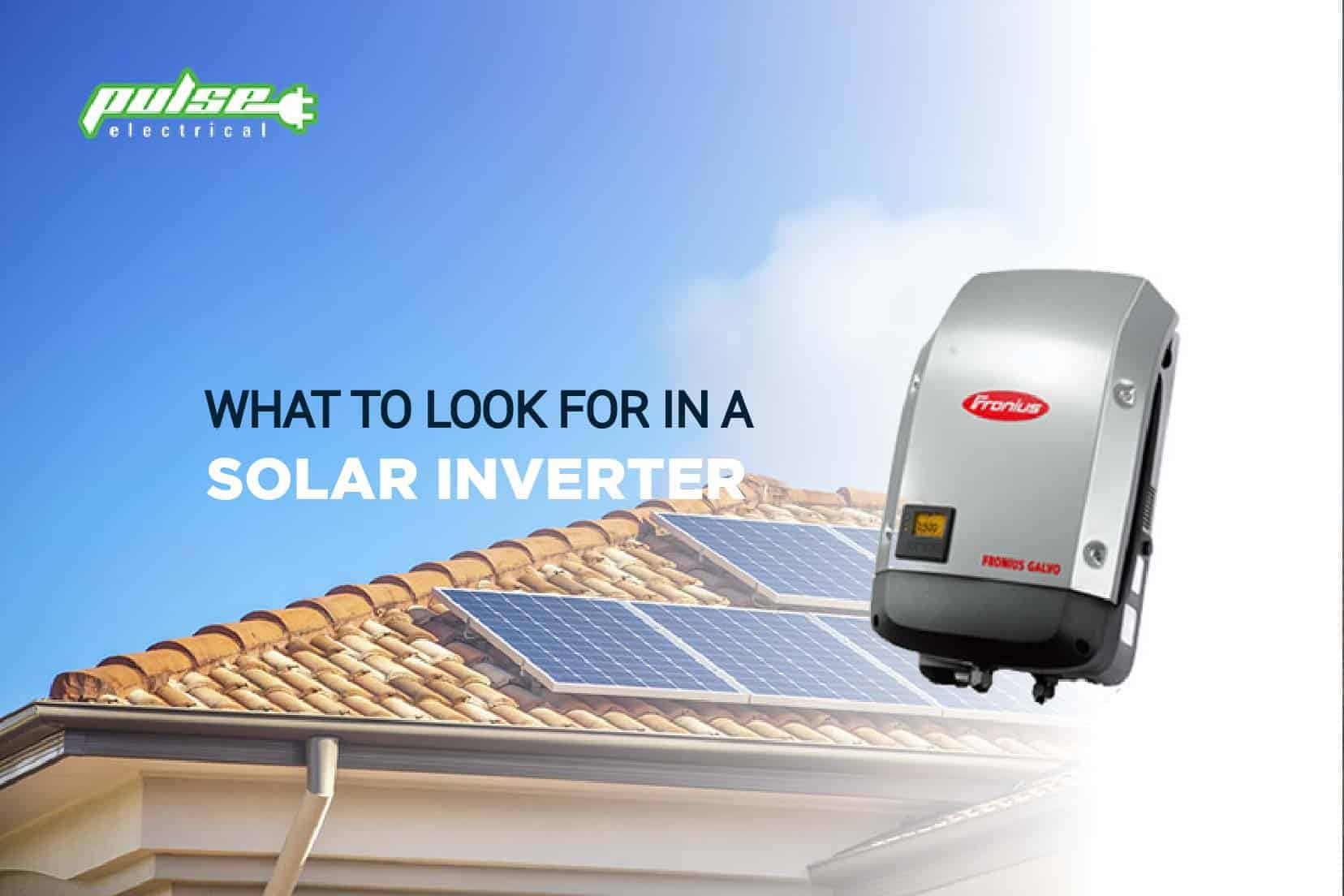 PULSE ELECTRICAL SOLAR INVERTER