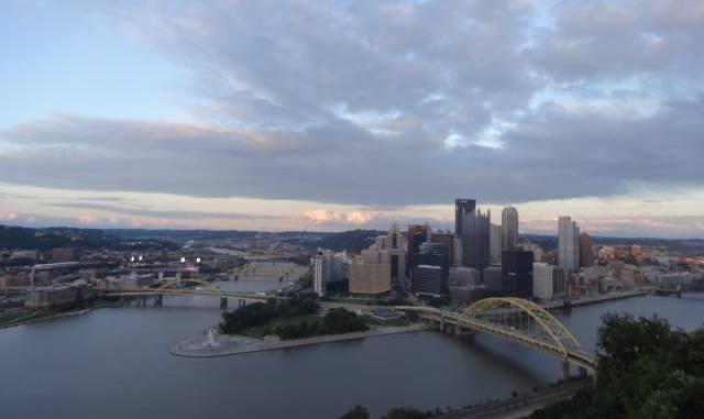 STEEL CITY... Pittsburgh's impressive skyline ranks among America's best