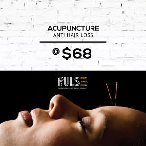 Acupuncture for Hair Loss Promotion