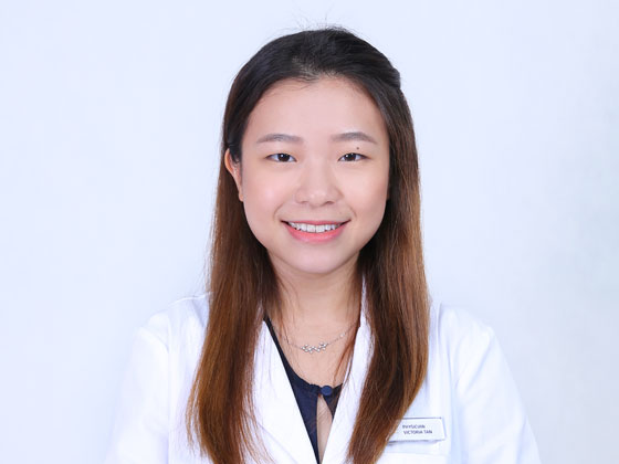Physician Victoria Tan